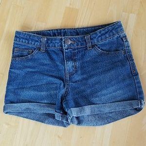 Cherokee jean shorts girls size 10/12 adjustable w